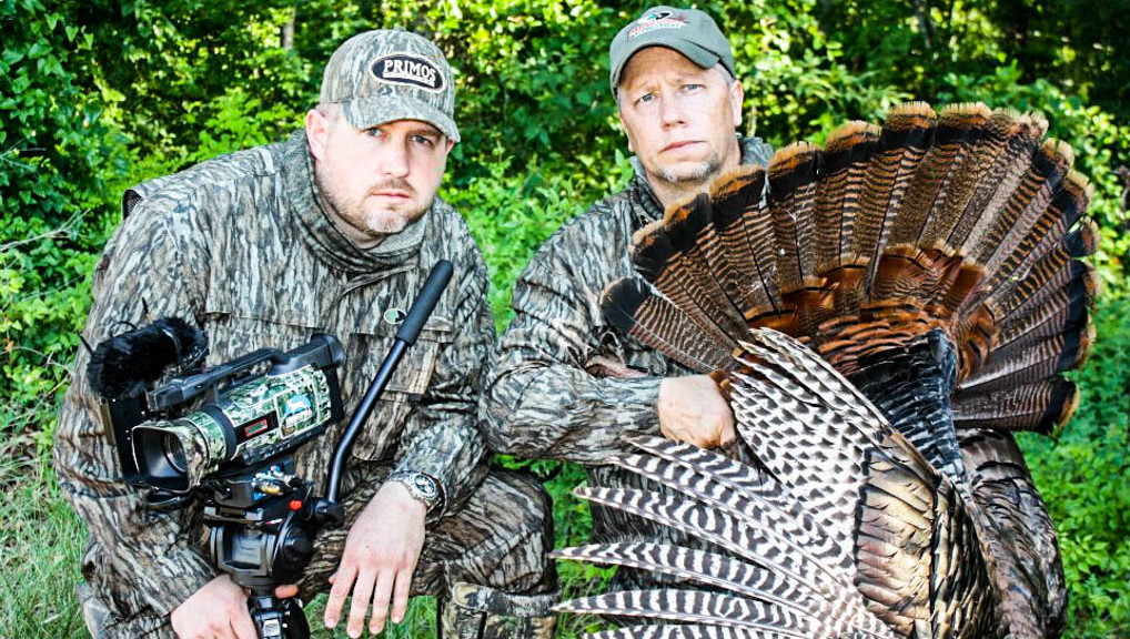 Roger and Matt with Roger's late season turkey