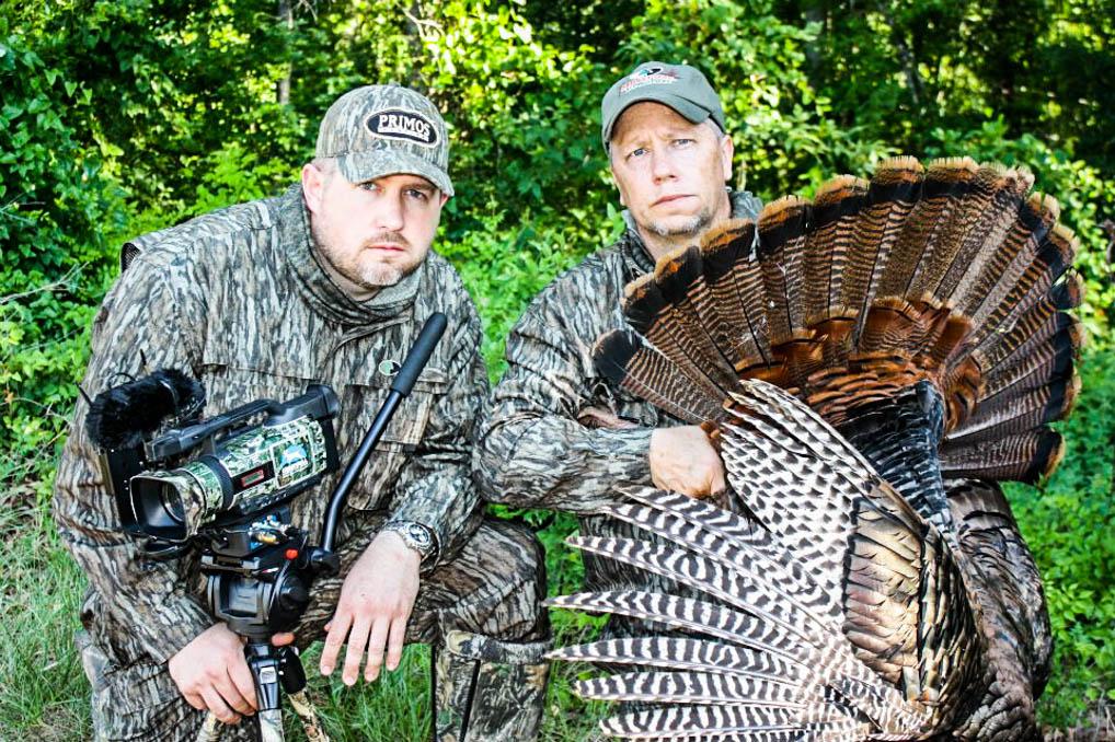 Roger and Matt with Roger's late season turkey